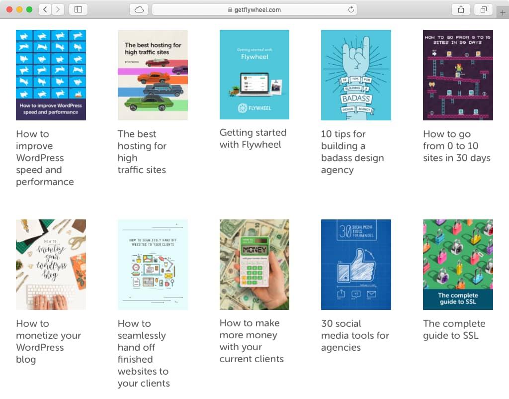 יש להם עמוד עם המון ebooks נהדרים בחינם בשלל נושאים